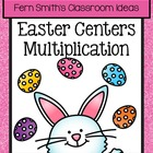 Thirteen Easter / Spring Multiplication Center Games By Fe