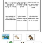 Three Billy Goats Gruff themed Answer the Question prescho