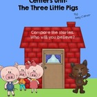 Three Little Pigs Unit