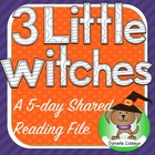 Three Little Witches Halloween Shared Reading Kindergarten