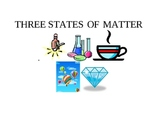 Three States of Matter Chart and More