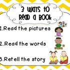 Three Ways to Read a Book {D5 Poster}