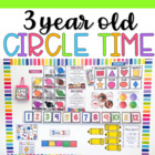 Three Year Old Circle Time