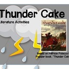 Thunder Cake Book Activities