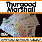 Thurgood Marshall Interactive Notebook Activities (Histori