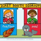 "Ticket Booth Digraphs - Working with the Vowel Sounds of ""ea"""