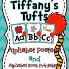 Tiffany's Tufts Alphabet Posters and Printables
