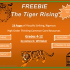 Tiger Rising Novel Study Resources Freebie Kate DiCamillo