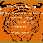 Tiger Rising Novel Study Resources Kate DiCamillo Common Core
