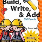 Tile It! Build, Write, & Add- CVC words