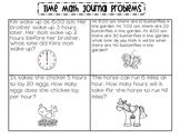 Time Math Journal Problems