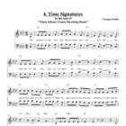 Time Signature Song, Student Edition