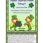 Time: Super Leprechaun Saves the Time!  (Hour and Half Hou