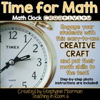 Time for Math: Math Clock Creativity