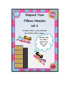 Time:(Elapsed Time 15 Minutes) (Set Two)Super Hero Girls