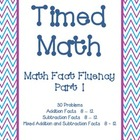 Timed Math (Fact Fluency, Part 1)