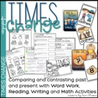 Times Change - Word Work, Writing Lessons and Math Practic