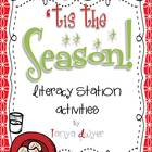 'Tis the Season {Literacy Stations}