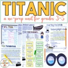 Titanic Unit Activity Packet