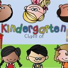 Title slides for Kindergarten End of the year Slideshow