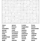 To Build a Fire Jack London Word Search Puzzle and KEY