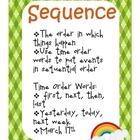 To Catch a Leprechaun Sequence Writing Activity