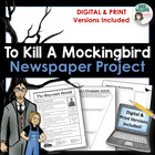 To Kill A Mockingbird - Newspaper Final Project