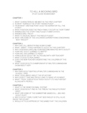 To Kill a Mocking Bird Study Guide (Harper Lee)