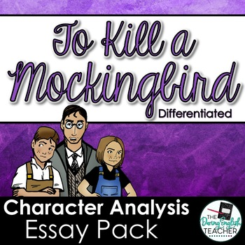 to kill a mockingbird essay characters