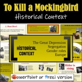 To Kill a Mockingbird Introduction (Historical Context) - Prezi