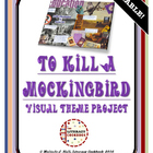 To Kill a Mockingbird - Visual Theme Project Collage