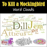 To Kill a Mockingbird by Harper Lee: Word Clouds For Every