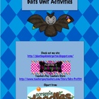 To The Bat Cave! Bats Unit Activities