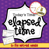 Elapsed Time - 5 Weeks of Daily Math - 3rd grade