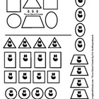 Toddler Busy Bag: Shape Sort