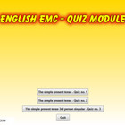 Tom Ansuini English quiz present tense