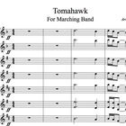 Tomahawk for Marching Band