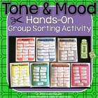 Tone and Mood Hands On Group Sorting Activity