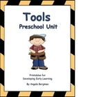 Tool Preschool Unit - Printable