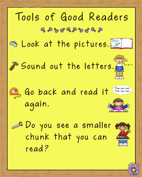 Tools of Good Readers (Reading Strategies)