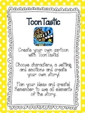 ToonTastic iPad activities