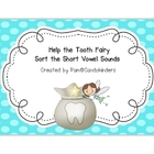 Tooth Fairy Short Vowel Sort