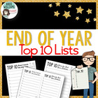 """Top 10 Lists"" for a New Year - FREE!"