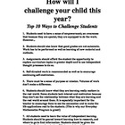 Top 10 Ways to Challenge Students