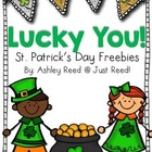 Top O' the Morning to Ya! (St. Patricks Day Freebies)
