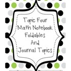 Topic Four Math Notebook (Place Value)