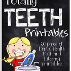 Totally Teeth Printables- A Dental Health Unit for K-2