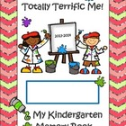 Totally Terrific Me Kindergarten Memory Book 2013-2014