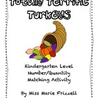 Totally Terrific Turkey Numbers and Quantities Activity