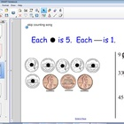 Touch Math Money: Counting Coin Collections